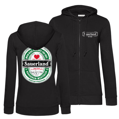 Zipper Damen Sauerland Etikett (Organic Cotton)